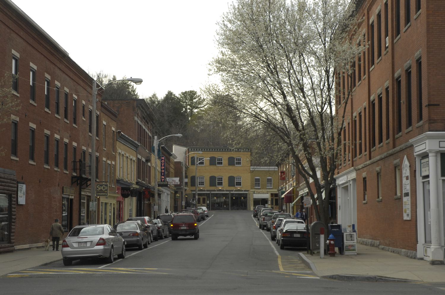 Downtown Great Barrington Berkshire Film And Media
