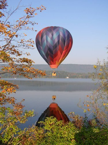 Hot Air Ballooning, Pontoosuc Lake