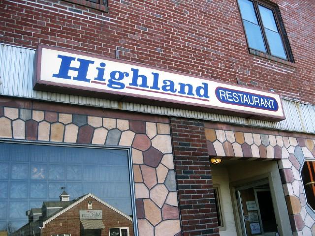Highland Restaurant