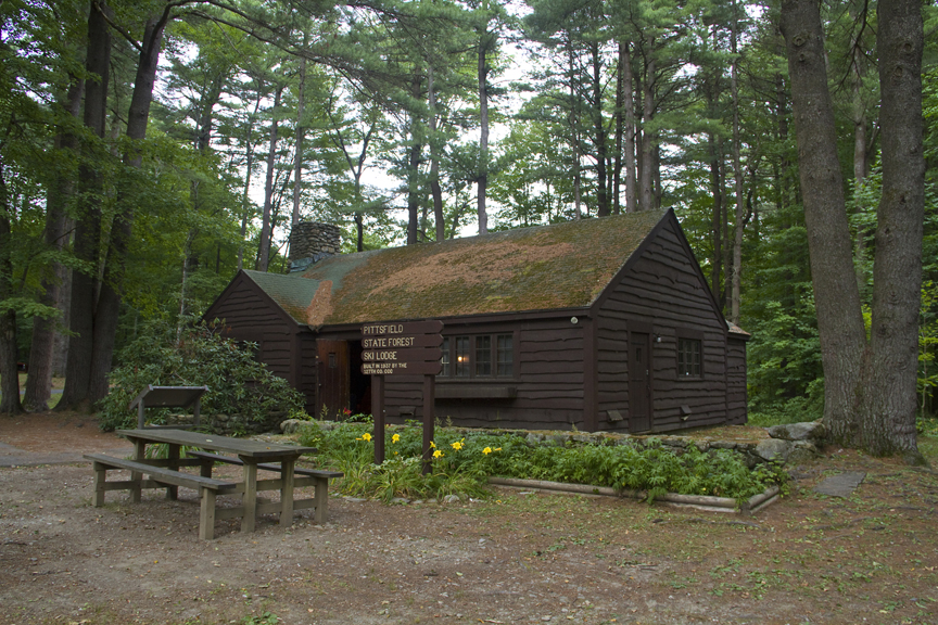 Pittsfield State Forest Ski Lodge