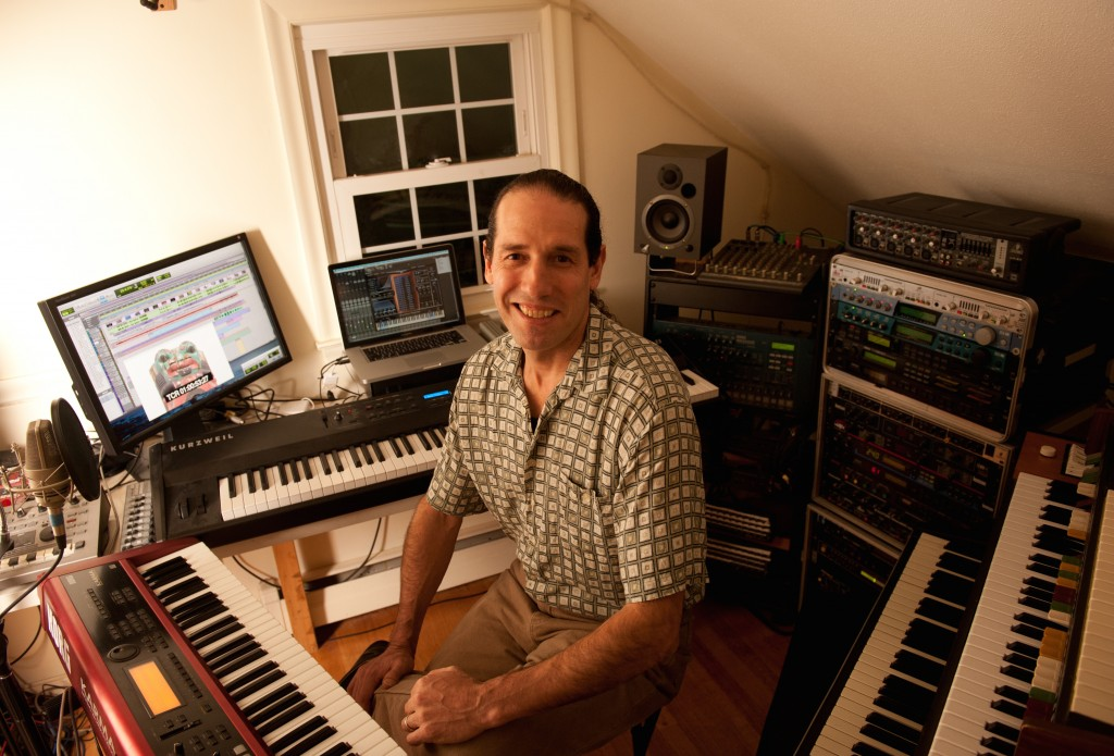 Film Composer, Tony Silva.