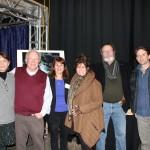 Doug and Julia Trumbull with BFMC Executive Director Diane Pearlman, BFMC board members Barbara Newman and Jay Ignaszewski and star of UFOTOG, Ryan Winkles.